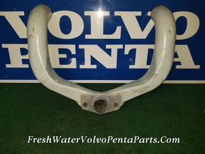 Volvo Penta 280 270 V8 Y-pipe p/n 826443 Dual side port exhaust outlets