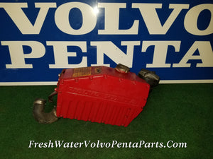 Volvo Penta Aq131 C heat exchanger, core Pressure tested p/n 855442 856135