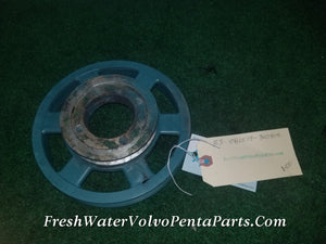 Volvo Penta KAMD43P-A Pulley p/n 860454 Alternator V-belt / Serpentine Combination