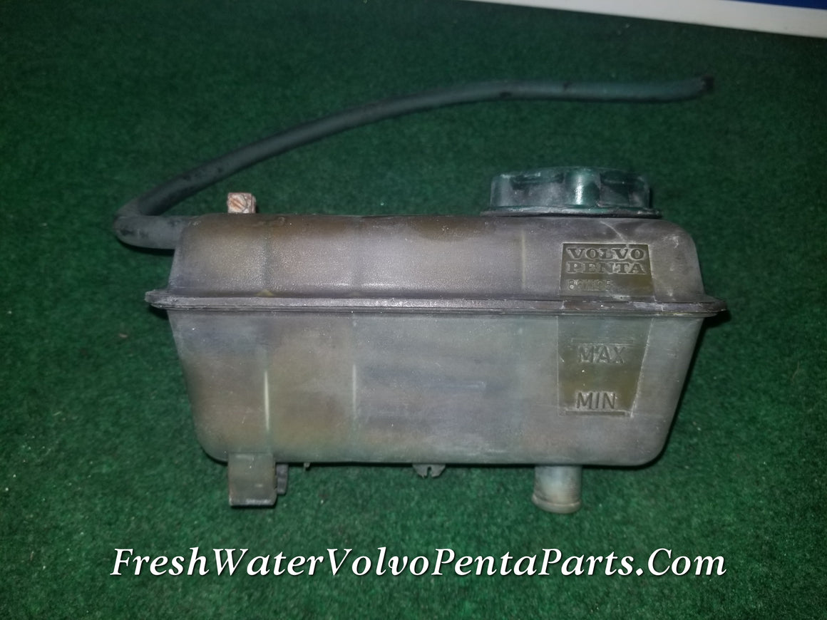 Volvo Penta KAMD43P-A Expansion Tank P/n 861105 with Hose and Cap