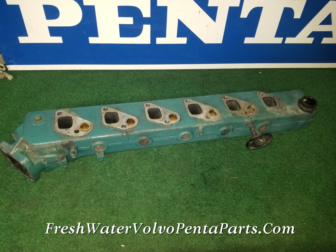 Volvo Penta Exhaust Manifold  KAMD43P-A Exhaust pipe p/n  861732  RPL 3581406