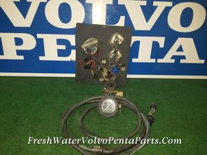 Volvo Penta KAMD42P-A Instrument Panel Ignition switch switch Tach & Harness 3587074