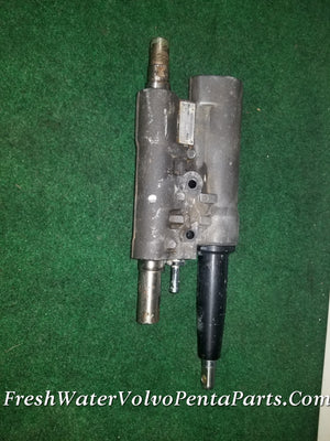 VOLVO PENTA REBUILT DP-A 290 POWER STEERING ACTUATOR ASSIST RAM 852741 $100 BUY BACK