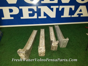 4 Cast Aluminum Swim Deck Brackets 17 x 5 Heavy Duty  p/n 04102
