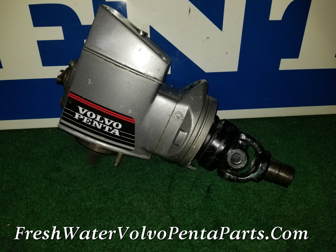 Volvo Penta Dp-E Rebuilt Resealed Upper gear unit Transmission 1.68 1.78 1.95 Swedish