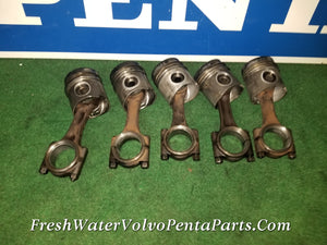 1 Volvo Penta TMD40A & 40 series Piston & Rod p/N 3581063