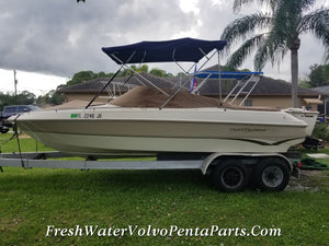 1995 Monterey Montura 210 Project boat New Interior Needs total Re-power