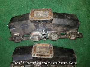 GLM Exhaust Manifolds Volvo Penta SX 5.0 5.8 Ford 1991 & Newer RPL 3852347 914898