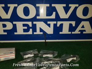 New Volvo Penta Set of 10 Cylinder head Bolts 1306341 B230 1000531 1000530