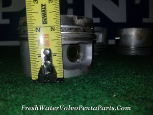 Volvo Penta Red Block 2.3L Standard Pistons , rings , wrist pins Standard  Stamped D and E