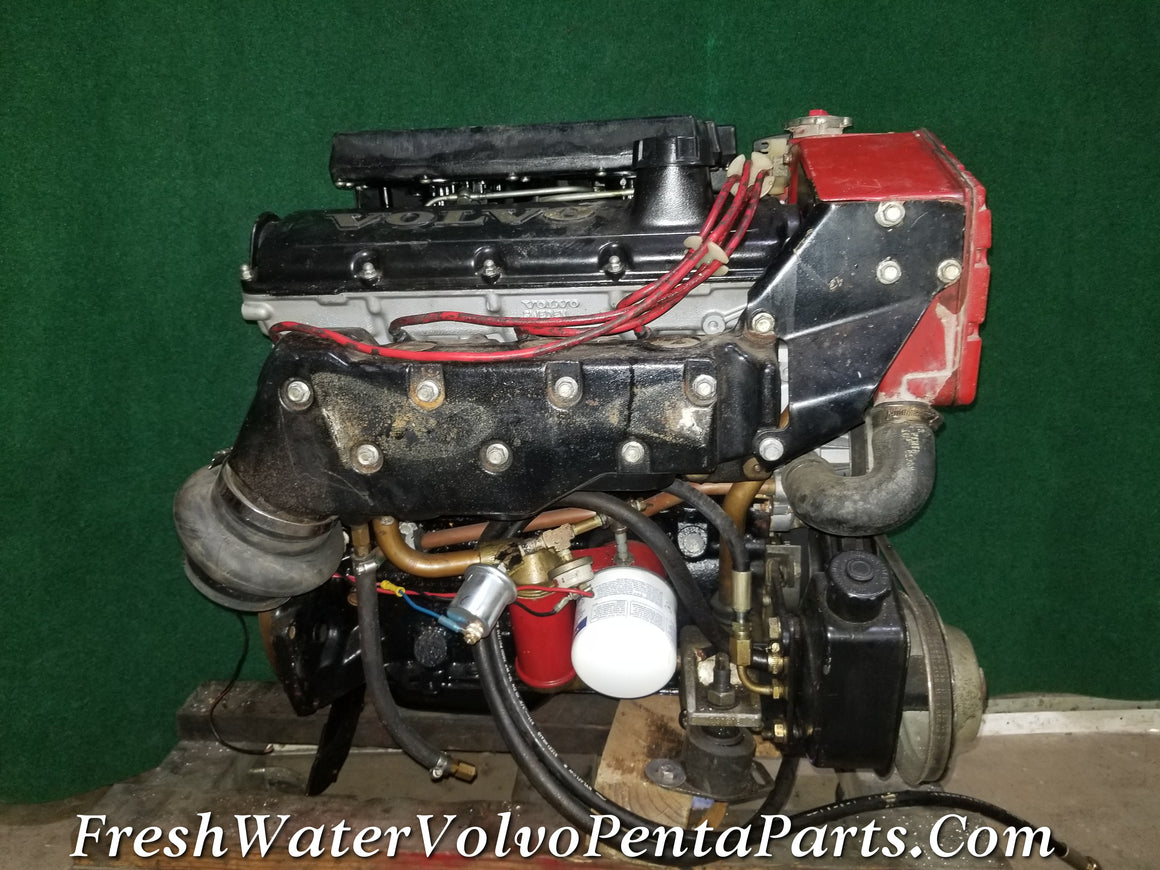 Volvo Penta 250 AQ151C Complete Drop in Refreshed 146 HP 2.5L Forged Crankshaft Engine