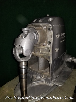 Volvo Penta 1.78 DPS-B 39 hours P/N 21615542 Outdrive Stern Drive Like New