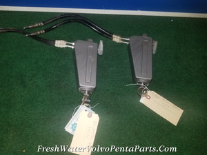 2 Volvo penta DPX Steering cylinders 873231 with hoses 872593 DpX DpX-S1 DPX-C