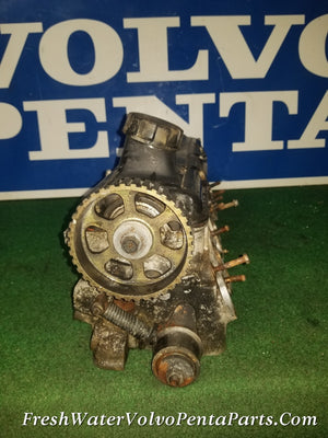 Volvo Penta 531 Cylinder head 1000531 V Cam AQ 151 2.5L Low Hour No Rot or Corrosion