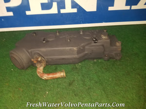Volvo Penta exhaust OSCO V0 418 VO418  & replaces P/N 855387 834438 4 Cylinder