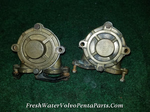 2 Volvo Penta Aq151 aq131 aq171 855578 raw water pumps excellent impellers