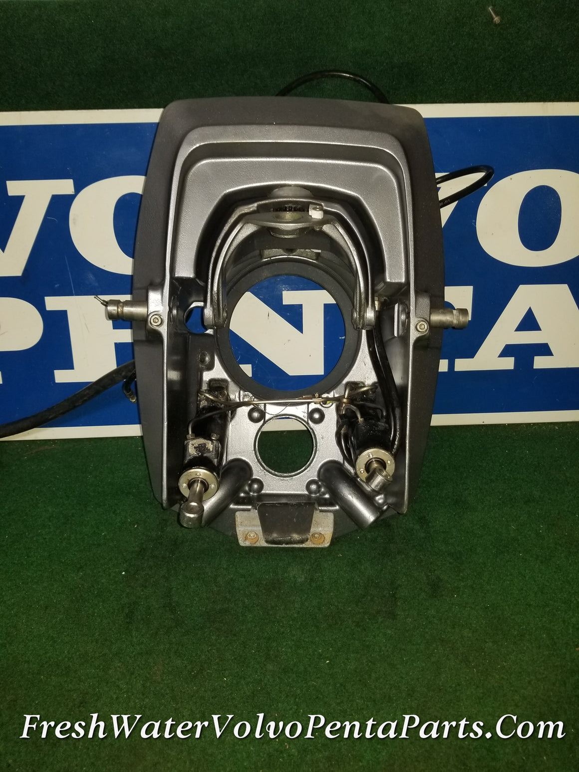 Volvo Penta Dp-E Big Pin Transom 3868724 Rebuilt Trim Cylinders Fork & Helmet assembly