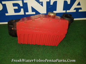 Volvo Penta Aq171 A C heat exchanger 855555 big core Pressure tested Aq151 aq131