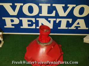 VOLVO PENTA BELLHOUSING 853978 WITH 10 SPLINE SHAFT NEW VOLVO BEARINGS 835977 841967