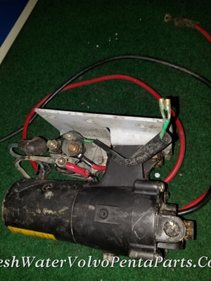 Volvo Penta Trim Pump BUILT IN RESERVOIR RELAYS AND BRACKET 852928 3586765