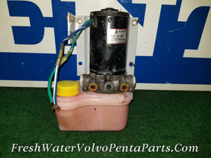 Volvo Penta  Hydraulic Trim Pump Volvo Penta Adapter Line Fittings Mercruiser OMC