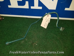Volvo Penta AQAD40B Turbo oil feed pipe oil pressure pipe  p/n 842938 MD40,