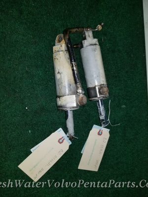 VOLVO PENTA 280PT 280 PT 280 POWER TRIM CYLINDERS W TRIM LINES PORT AND STARBOARD