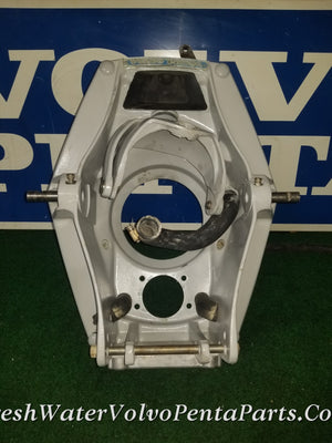 Volvo Penta aq 270 275 280 V8 Dual side port Exhaust Transom Shield Pn 850678 867900