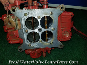 Volvo Penta Holley 715 CFM dual Feed Vacuum secondaries Marine Carburetor List 80159