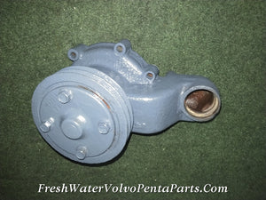 VOLVO PENTA TAMD40 B CIRCULATING WATER PUMP C/N 844423 P/N 844422 PULLEY 1542238