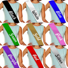 Load image into Gallery viewer, 21 & Fabulous Rhinestone Birthday Sash GetTShirty