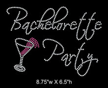 Load image into Gallery viewer, Bachelorette Party Rhinestone Transfer - 2 Color GetTShirty