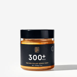 True Honey Co. 300+ MGO 250g Manuka Honey Jar