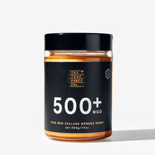 Load image into Gallery viewer, True Honey Co. 500+ MGO 400g Manuka Honey