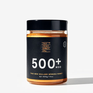 True Honey Co. 500+ MGO 400g Manuka Honey Jar