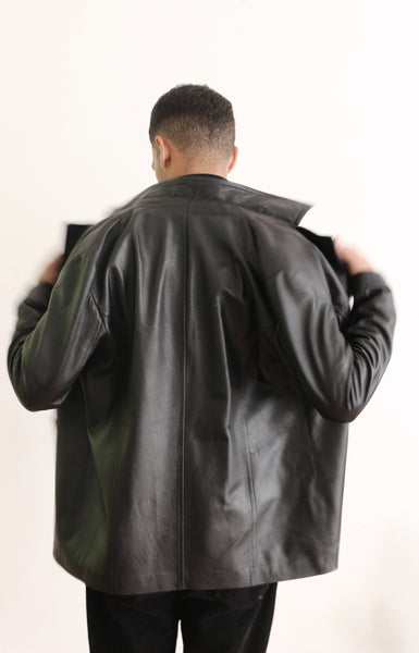 Staple Leather Blazer
