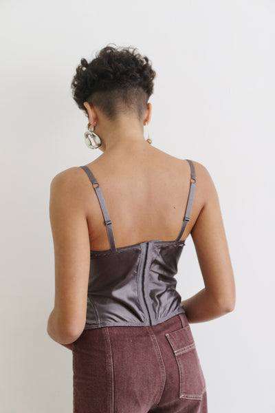 Mauve Afternoons Bustier