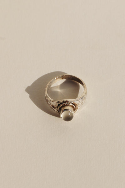 Clear Store Pure Silver Ring