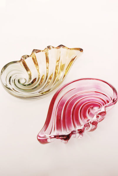 Vintage Murano Style Jewelry Dish