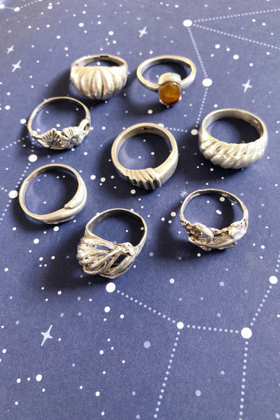 Tangled Pure Silver Ring