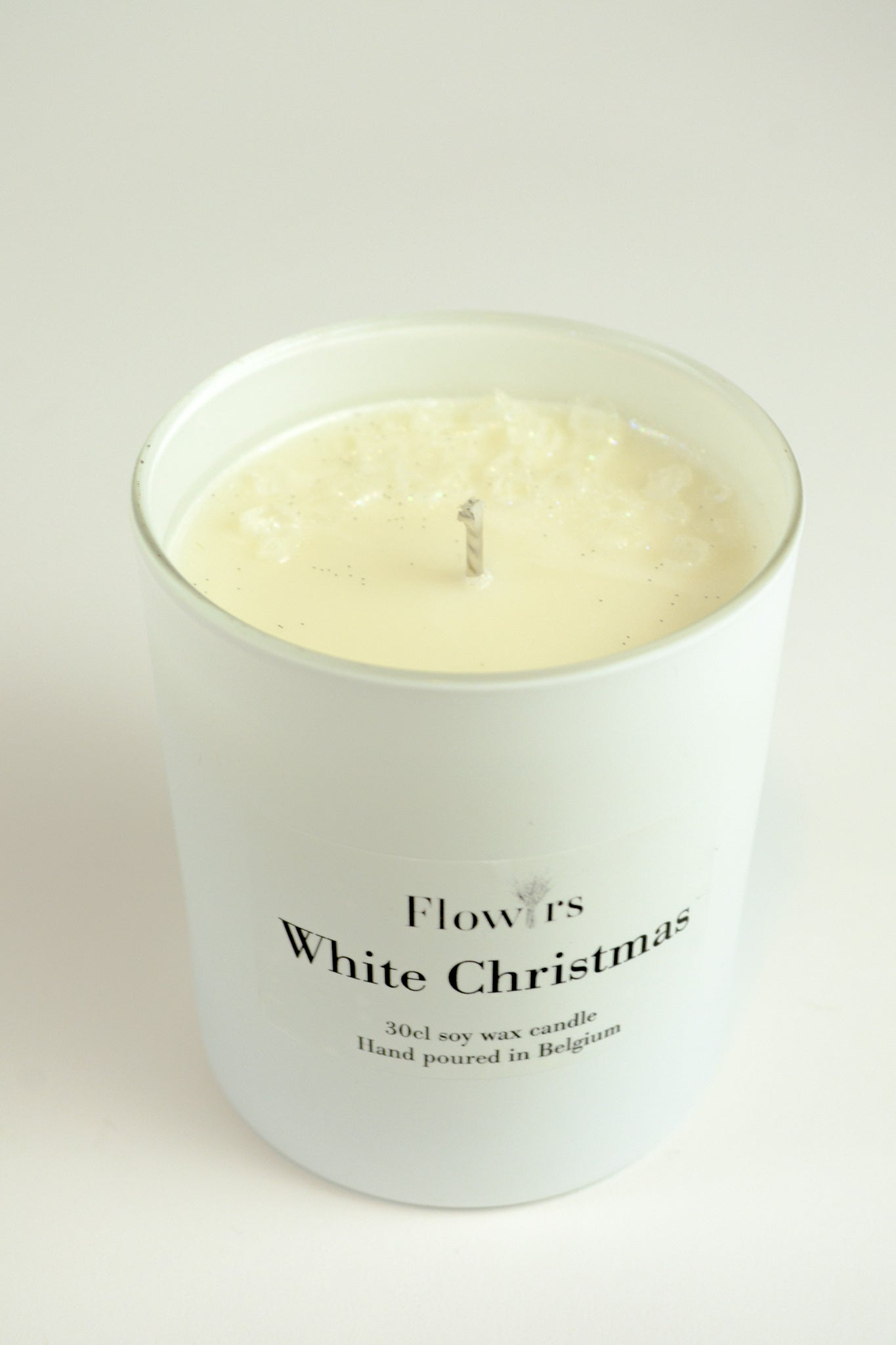 White Christmas - Flowrs.shop     candle, Decoration - gedroogde bloemen , fleurs séchees