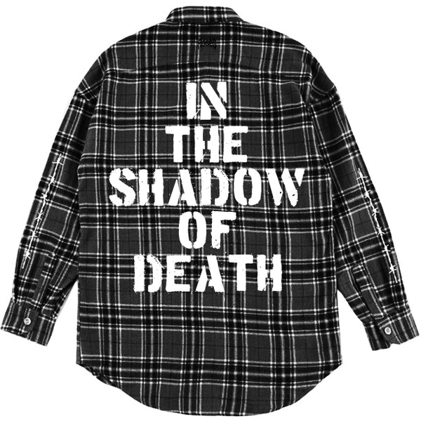 IN THE SHADOW OF DEATH FLANNEL SHIRT