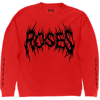 ROSES IN FLAMES LOGO CREWNECK