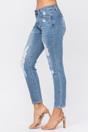 Destroyed Relaxed Jeans 8833