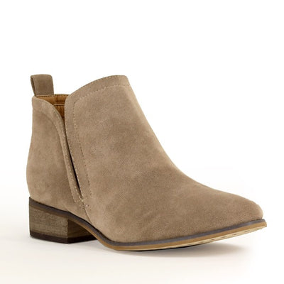 Rider Girl Booties Taupe
