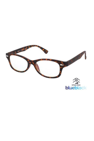 Blue Light Blocker Readers Tortoise