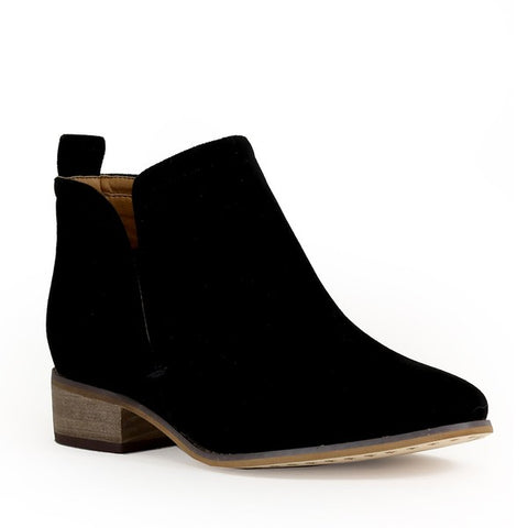Rider Girl Booties Black