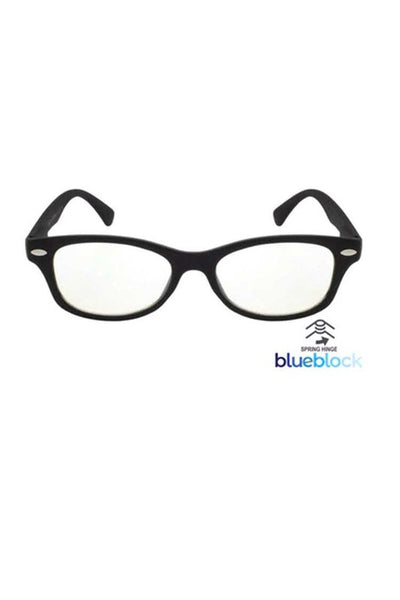 Blue Light Blocker Readers Black