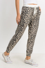 Leopard Thermal Joggers