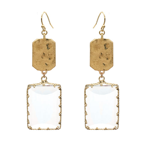 Enchanted Rectangle Earrings